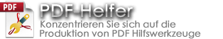 PDF Helper Offizielle Website Banner