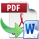 PDF to DOC Logo