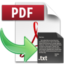 PDF to Text Logo