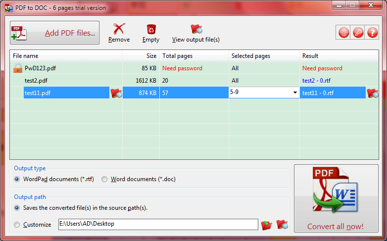 PDF to DOC - a PDF to Word Converter to Convert PDF to DOC Files