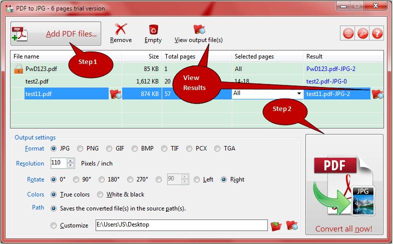 convert gif to pdf linux