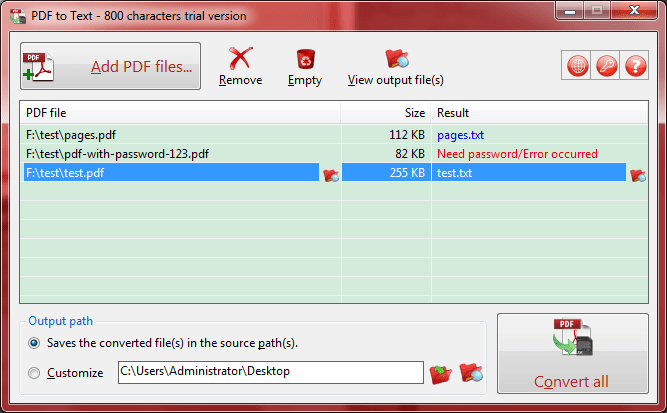 notepad to pdf converter